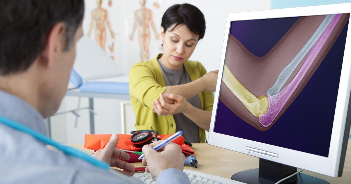 a kéz könyökgyulladása menü ízületi gyulladás kezelésére