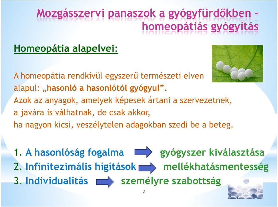 áttekintés az artrózis homeopátia kezeléséről)