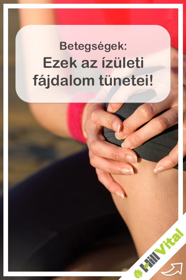 ízületi fájdalom, mint az ujjak térdízület sérülés tünetei