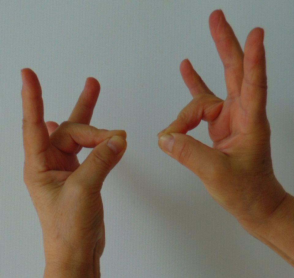 a jobb kéz ízülete