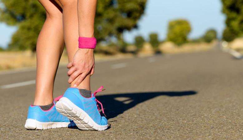 Miért fáj a bokám futás közben?