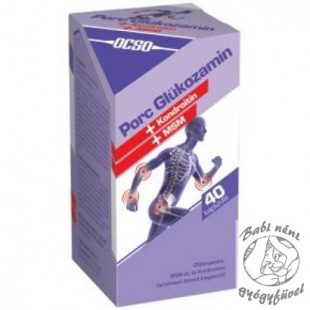 kondroitin-glükozamin sorrend ízületi és ízületi sérülések