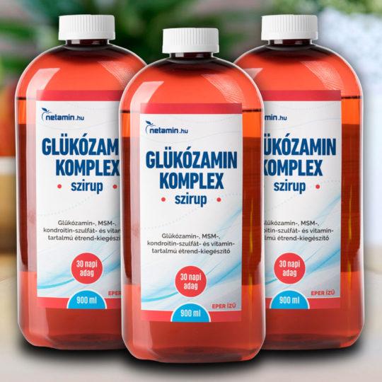 vásároljon vitaminokat kondroitin és glükózamin mellett