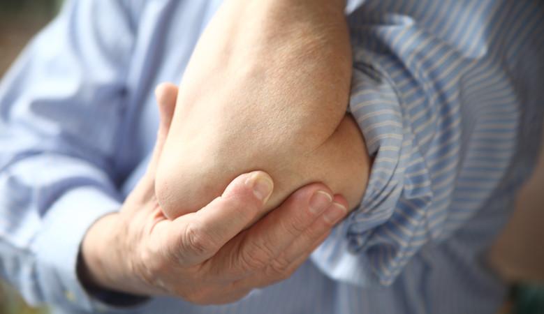 ízületi fájdalom könyök tünetei blokád térd gyógyszeres kezelésével