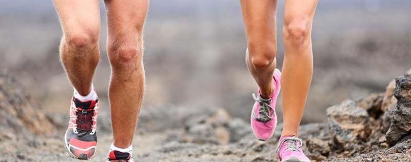 futás térd artrózisával