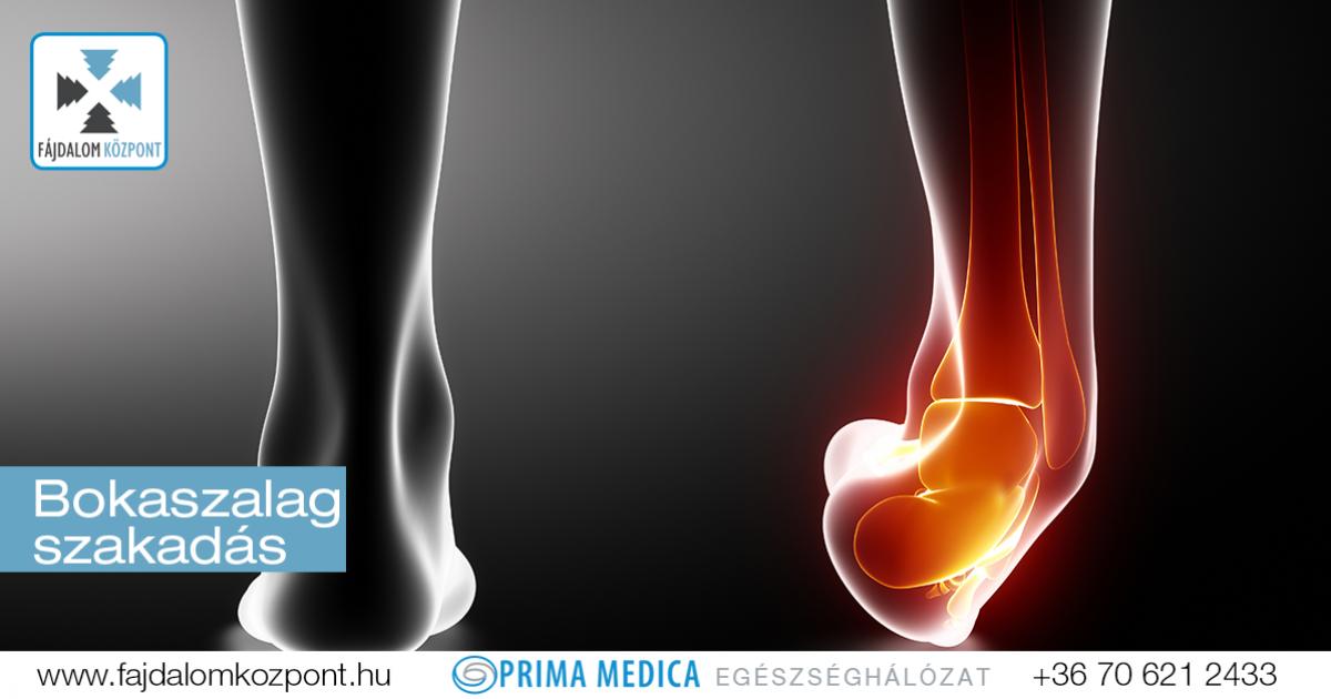 a láb ízülete sérülés közben jár