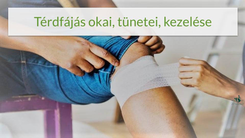 térdízület fentről fáj a boka szakadt kötegeinek kezelése